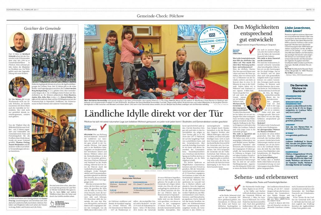 Gemeinde-Check Pölchow